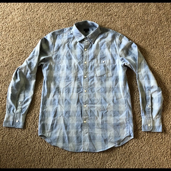 J. Crew Other - J. Crew Men's Plaid Casual Button-up - Size Medium